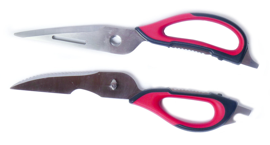 Precision multipurpose kitchen shears separate for cleaning