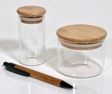 Collection of Borosilicate Spice Bottles