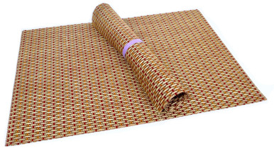 Squish Crossweave Woven Vinyl Placemat Set Of 4 Thicket