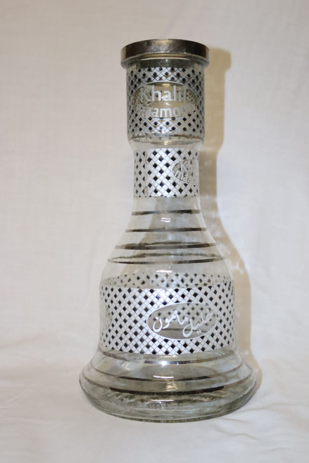 Khalil Mamoon Checkered Glass Base