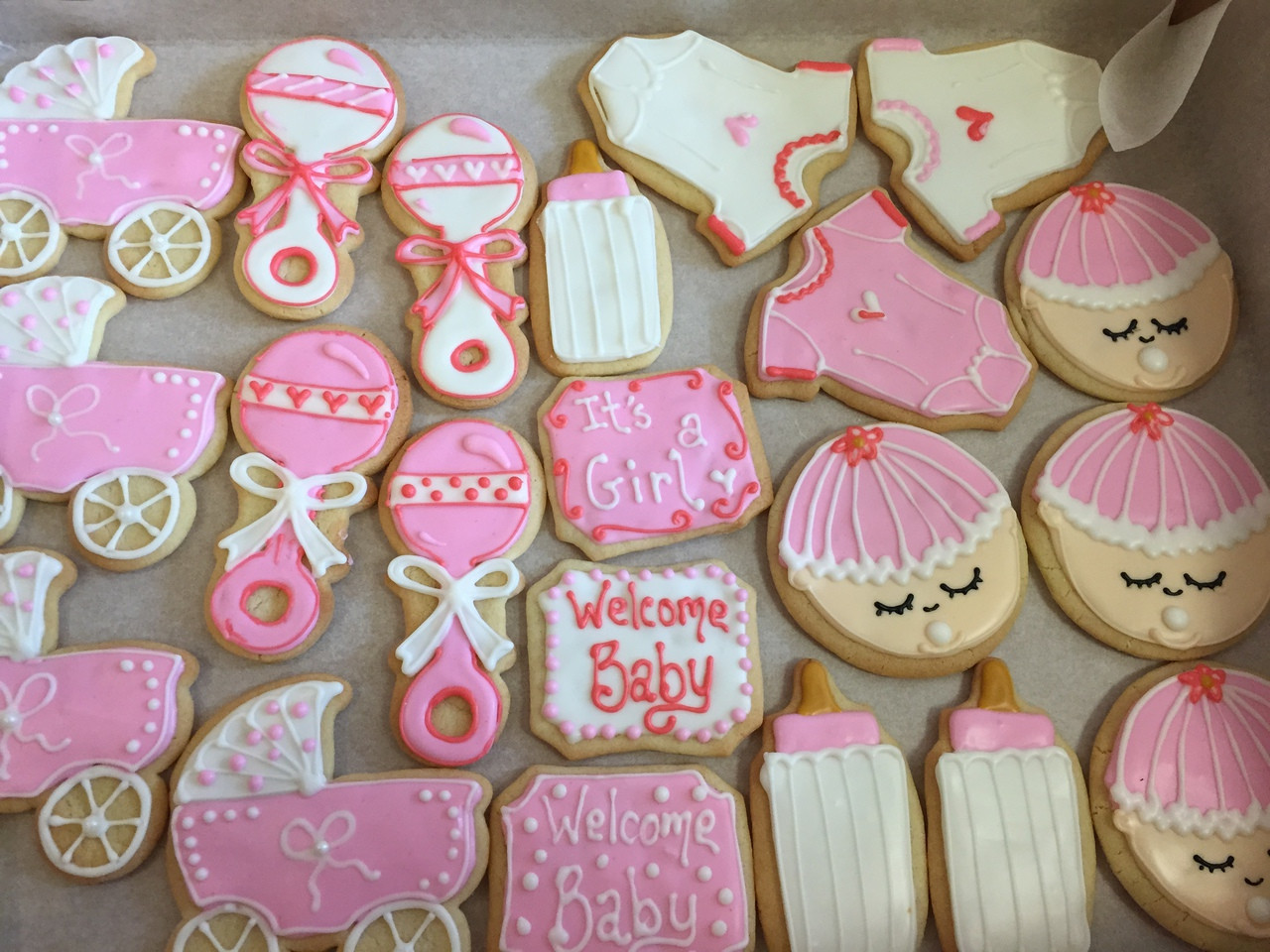 Baby Shower Cookies Maggie Mollys Sweet Life