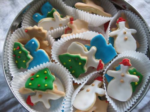 Tin of Mini Christmas Sugar Cookies