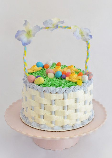 Easter Basket Cake Maggie Molly S Sweet Life