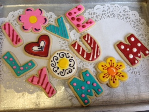 I LOVE YOU MOM Cookies