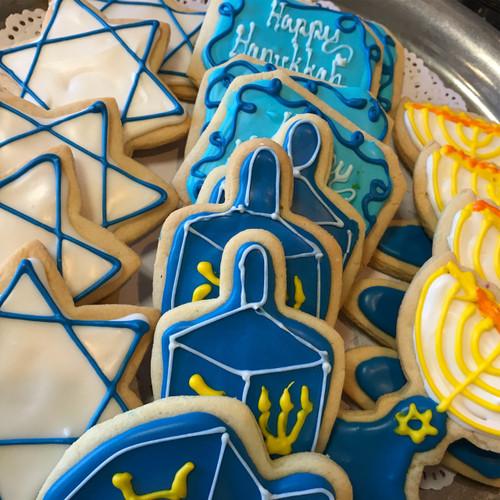 Hannukah Sugar Cookies