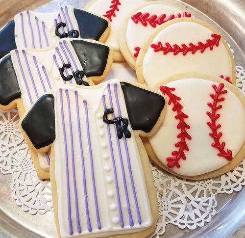 Colorado Rockies Sugar Cookies