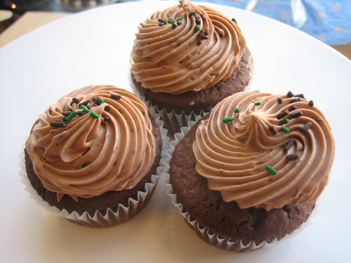 Chocolate Cupcake with Nutella Buttercream
