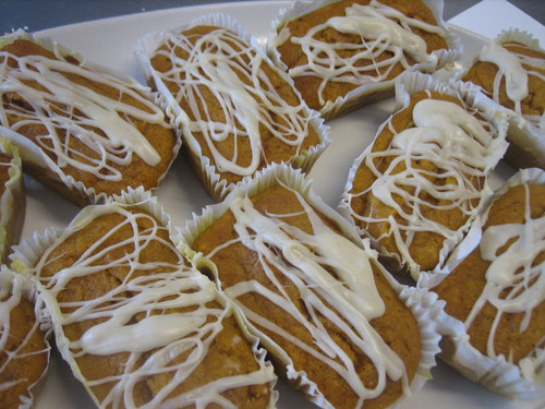 Pumpkin Bread Mini Loafs