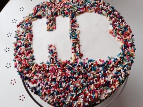 Make Your Cake a Sprinkle Cake!