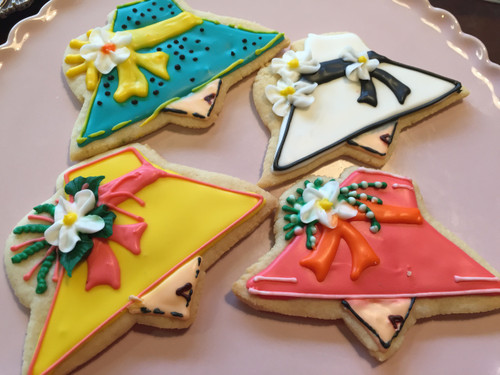 Mother's Day Hat Sugar Cookies