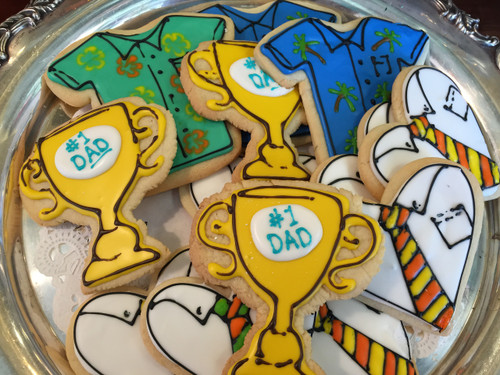 #1 Dad Sugar Cookies