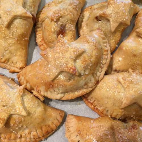 Blueberry and Cherry Hand Pies