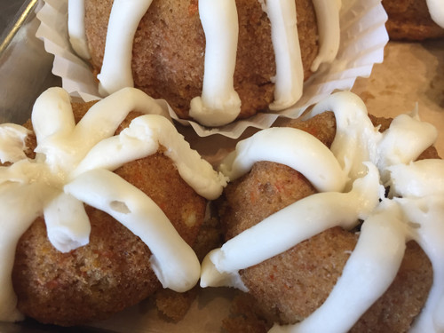 Gluten Free Carrot Bundt Cakes with Cream Cheese Icing