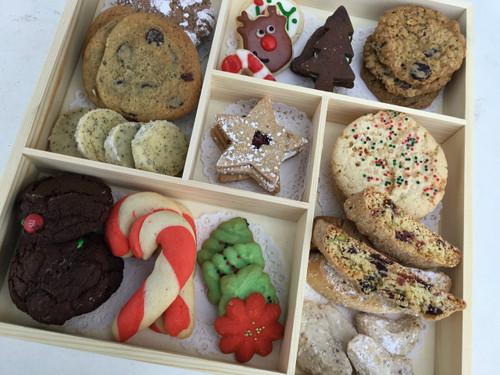 Keepsake Box of Christmas Cookies