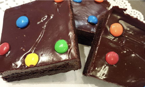 Gluten Free M&M Brownies