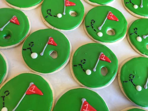 Hole in One! Sugar Cookies