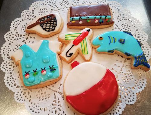 Fishing Sugar Cookies