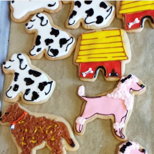 Doggie Sugar Cookies