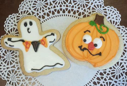 Jumbo Halloween Sugar Cookies