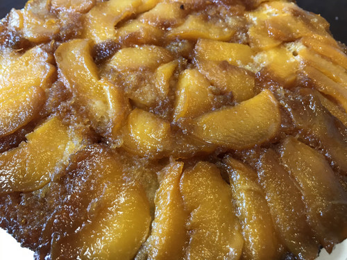 Palisade Peach Upside Down Cake