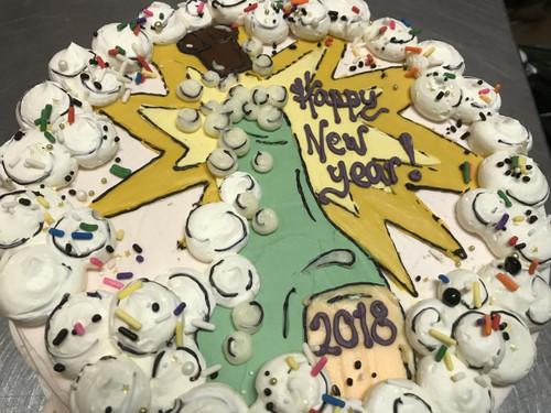 Happy New Year! Cake