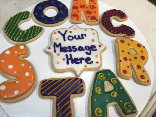 """""""CONGRATS"""" From... Sugar Cookies"""