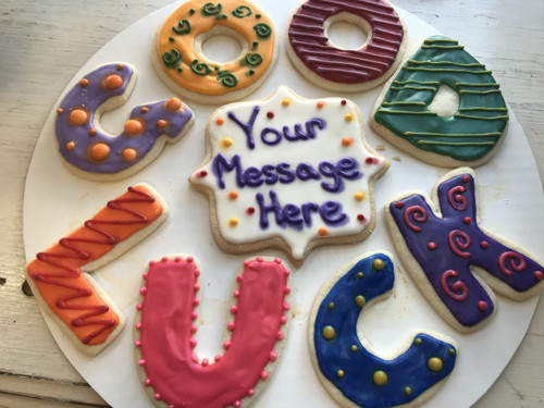"""Good Luck"" Sugar Cookies"