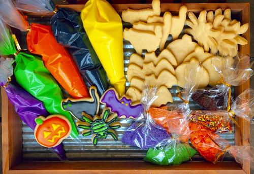 Halloween Sugar Cookie Decorating Kit