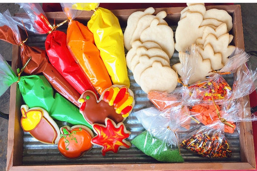 Thanksgiving Sugar Cookie Decorating Kit