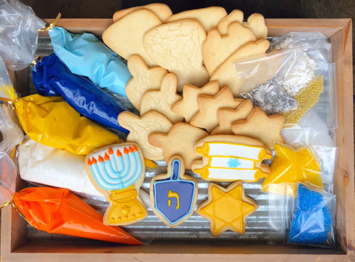 Hannukah Sugar Cookie Decorating Kit
