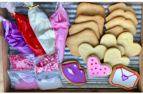 Valentine's Day Cookie Decorating Kit for Kids