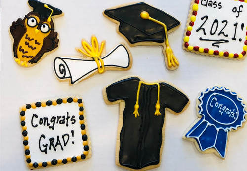 Graduation Sugar Cookies - youth