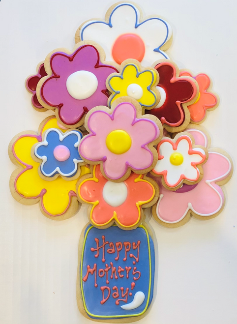 Mother's Day Bouquet of Cookies