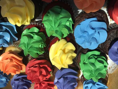Pride Month Mini Cupcakes