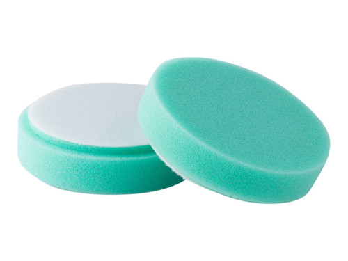 "4"" Buff & Shine Green Pads (2-pack) - carcareshoppe.com"