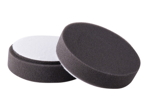 "4"" Buff & Shine Black Pads (2-pack) - carcareshoppe.com"