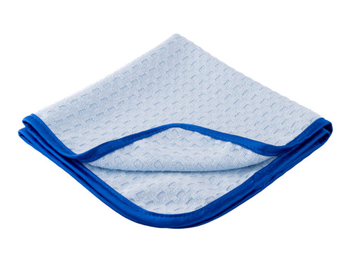 "Car Care Shoppe Microfiber Waffle Weave Glass Towel - Step 2 16""x16"" - carcareshoppe.com"