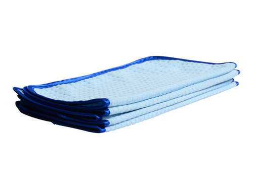 "Car Care Shoppe Microfiber Waffle Weave Glass Towel - Step 2 16""x16"" (5-pack) - carcareshoppe.com"