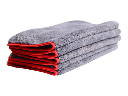 "Car Care Shoppe Extra Pluffy Microfiber Towel 16""x16"" (5-pack) - carcareshoppe.com"