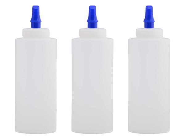 12oz. Squeeze bottle w/ Ribbon Applicator Spout - 3-Pack | Car Care Shoppe Canada