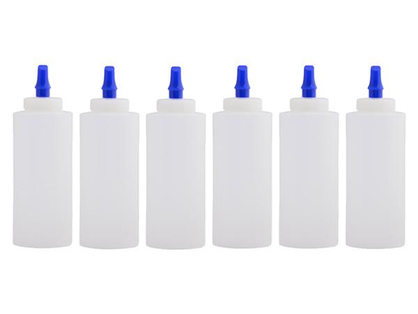 12oz. Squeeze bottle w/ Ribbon Applicator Spout - 6-Pack | Car Care Shoppe Canada