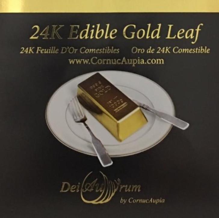 24K Edible Gold Leaf Transfer Sheets