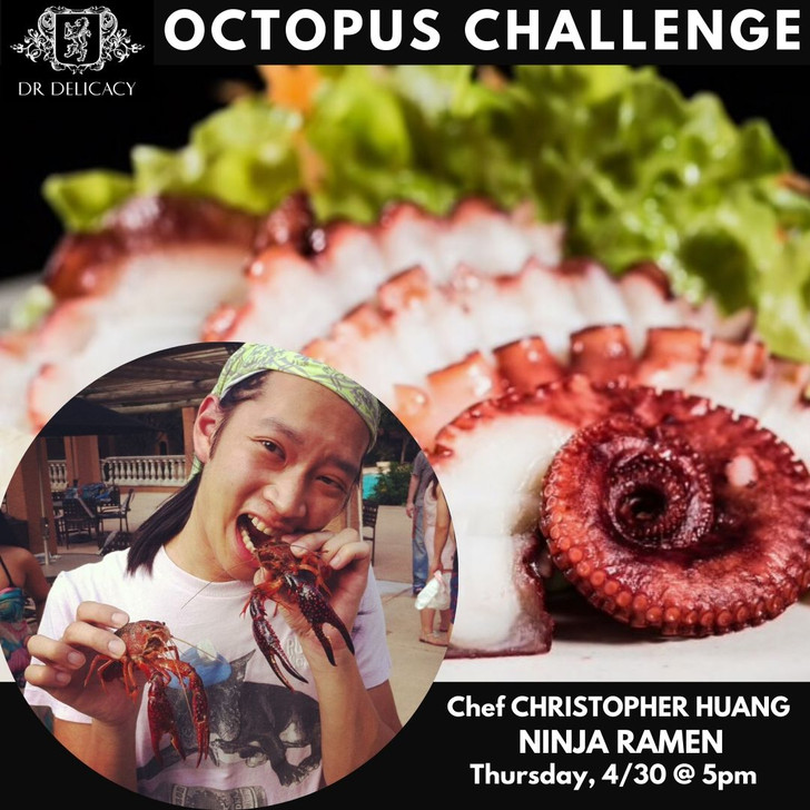 Octopus Challenge- Chef Christopher Huang, Octopus Pancake