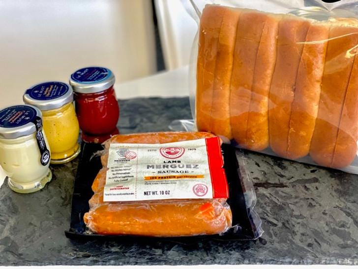 Spicy Lamb Sausage Kit