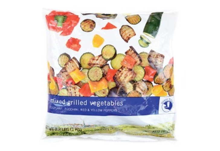 Mixed Grilled Vegetable Packaging