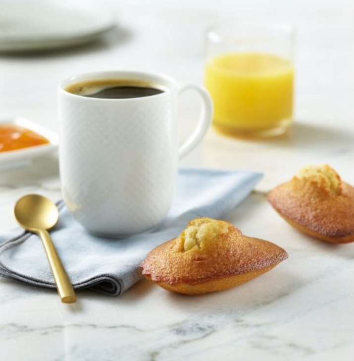 White Toque - Large Pure Butter Madeleines