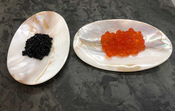 Mother of Pearl Caviar Plate