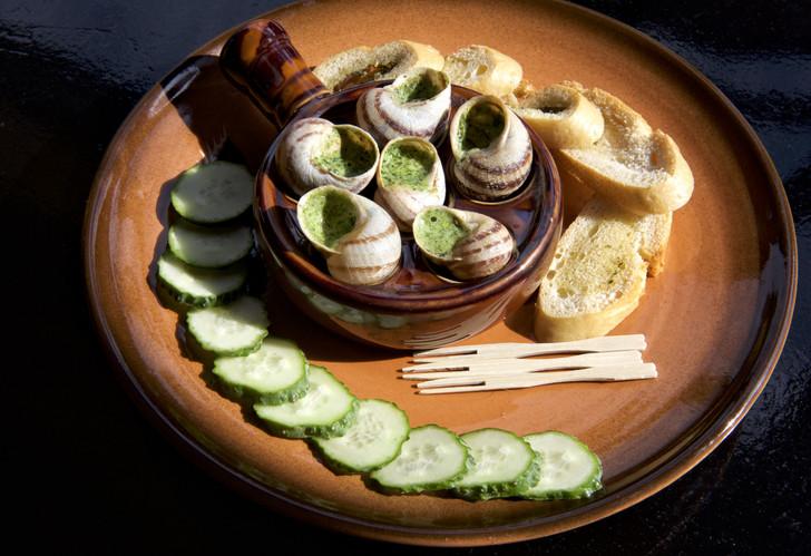 Escargot Ceramic Baking Dish