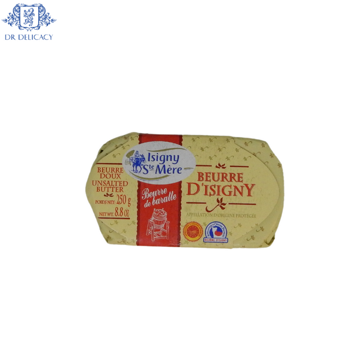 Butter French Beurre D'Isigny UNSALTED 8.8oz