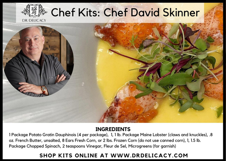 Lobster In A Pool Meal Kit By Chef David Skinner